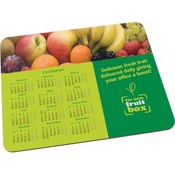 Kalender muismat voor bedrijven
