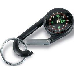 Karabijnhaak met kompas