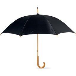 Paraplu met houten handvat bedrukken