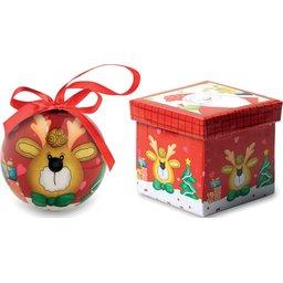 Kerstbal in schenkverpakking bedrukken