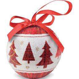 Kerstbal in verpakking