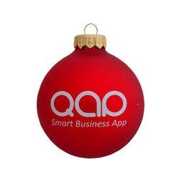 Kerstballen met logo bedrukken