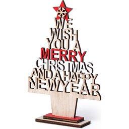 Kerstboom Merry Christmas & Happy New Year bedrukken