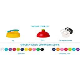 Kies je kleur sportbidon accessoires