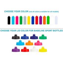 Kies je kleur van schroefdop sportbidon