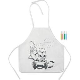 Kinder keukenschort bedrukken