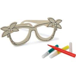 Kinderbril tekenset