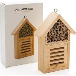 Klein insectenhotel-verpakking