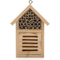 Klein insectenhotel-voorzijde