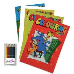 Kleurboek set bedrukken