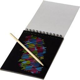 Kleurig krasboek bedrukken