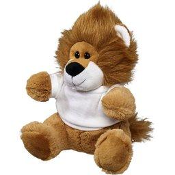 Knuffel leeuw met T-shirt bedrukken