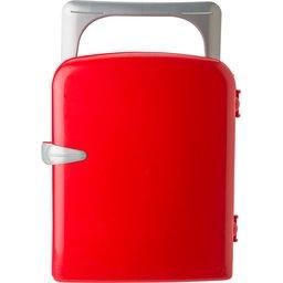 Koelkast uit kunststof met koelelement bedrukt met je logo