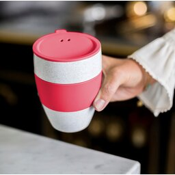 Koffiebeker Aroma to go bedrukken