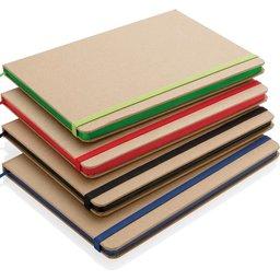 Kraft notitieboek met gerecycled papier