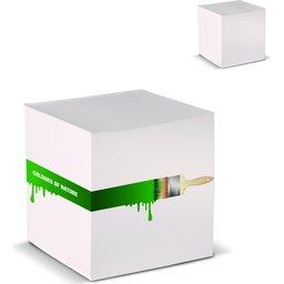 Kubusblok Recycled Papier 10 x 10 x 10 cm