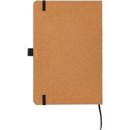 Kurken hardcover notitieboek A5-achterzijde