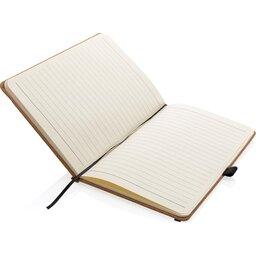 Kurken hardcover notitieboek A5-binnenzijde