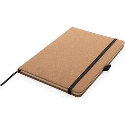 Kurken hardcover notitieboek A5-liggend