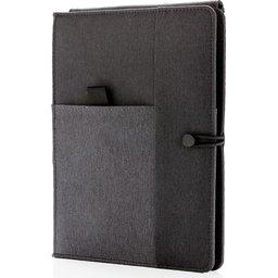 Kyoto notitieboek met 5W draadloze 4.000 mAh powerbank