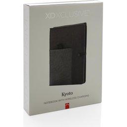 Kyoto notitieboek met 5W draadloze 4.000 mAh powerbank -verpakking