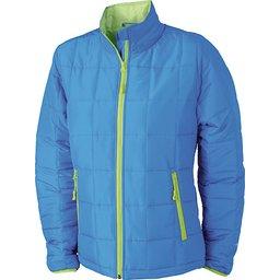 Ladies Padded Light Weight Jacket aqua