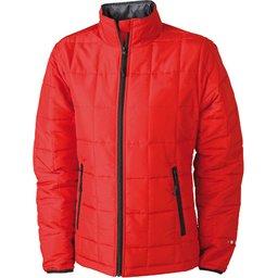 Ladies Padded Light Weight Jacket rood