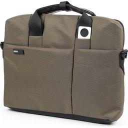 laptop tas 13 inch lexon bruin