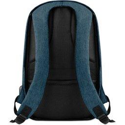 Laptoptas Berlin-blauw achterzijde