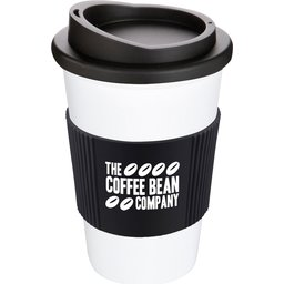 LE9575_White-Mug,-Black-Grip--Lid