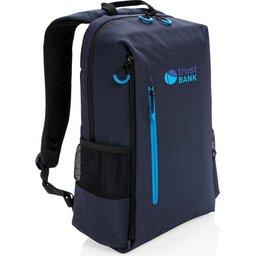 "Lima 15"" PVC vrije laptop rugzak met RFID & USB-gepersonaliseerd"