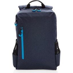 """Lima 15"""" PVC vrije laptop rugzak met RFID & USB-voorzijde"""