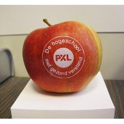 Logo appelen gezond school bedrukken