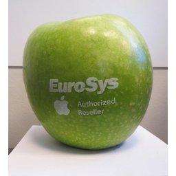 Logo appelen groen bedrukken