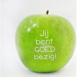 Logo appelen jij bent goed bezig