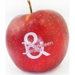 Logo appelen verliefd