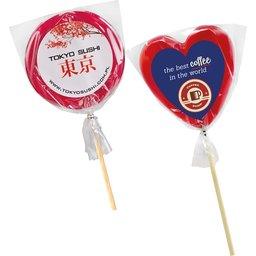 Lollipops met logo