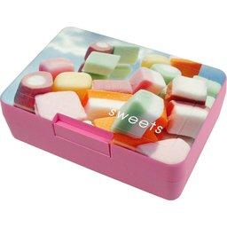 Lunchbox brooddoos roze