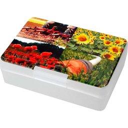 Lunchbox brooddoos transparant