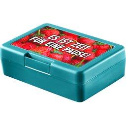 Lunchbox brooddoos turqoise