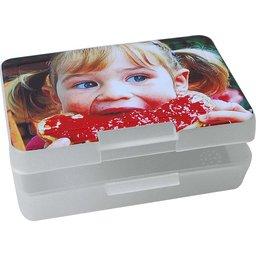 Lunchbox brooddoos wit bedrukken