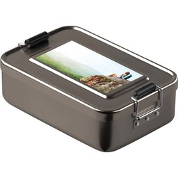 Lunchbox Metallic gepersonaliseerd