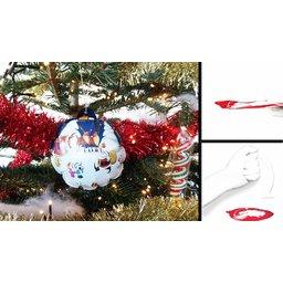 Magische Kerstbal Self Inflat-a-Ball