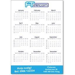 Magneten kalender A4