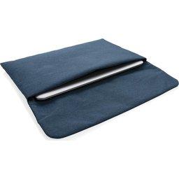 Magnetisch sluitende 15.6 laptop sleeve PVC-vrij