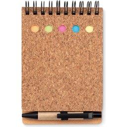Memoboekje met sticky notes bedrukken