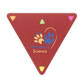 Memoboekje Triangle rood