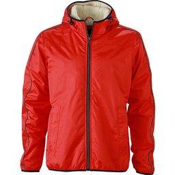 Men`s Winter Sports Jacket rood