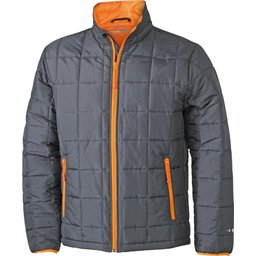 Men's Padded Light Weight Jacket carbon