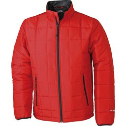 Men's Padded Light Weight Jacket rood